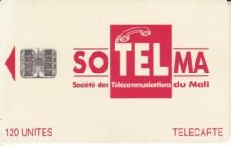 TARJETA DE MALI DE 120 UNITES DE SOTELMA - Mali