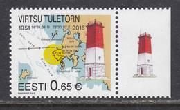 Estland 2016. Virtsu Lighthouse. 1 W. MNH. - Estonie