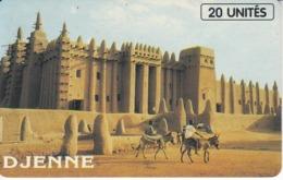 TARJETA DE MALI DE 20 UNITES DE DJENNE - Mali