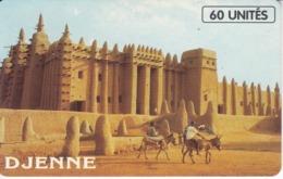 TARJETA DE MALI DE 60 UNITES DE DJENNE - Mali