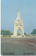 TARJETA DE MALI DE 20 UNITES DE UN MONUMENTO - Mali