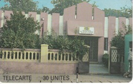 TARJETA DE MALI DE 30 UNITES DE UN EDIFICIO TELECENTRE - Mali