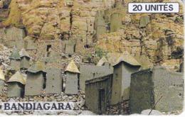TARJETA DE MALI DE 20 UNITES DE BANDIAGARA - Mali