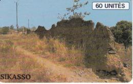 TARJETA DE MALI DE 60 UNITES DE SIKASSO - Mali