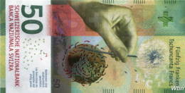 Suisse 50 Francs (P77) 2015a (Pref: M) -UNC- - Switzerland