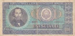 BANCONOTA ROMANIA 100 VF (VX1011 - Romania