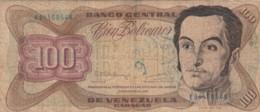 BANCONOTA 100 BOLIVARES VENEZUELA VF (VX1024 - Venezuela