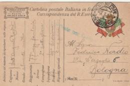 CARTOLINA IN FRANCHIGIA 1917 TIP. MOLINA (VX1133 - Franchigia