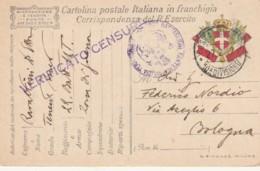 CARTOLINA IN FRANCHIGIA 1917 10 DIVISIONE (VX1161 - 1900-44 Victor Emmanuel III