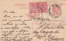 INTERO POSTALE 1917 C.10+ESPRESSO C.25  TIMBRO FORTE DEI MARMI (VX1223 - 1900-44 Vittorio Emanuele III