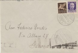LETTERA 1933 50+50 POSTA AEREA TIMBRO POLA POSTA AEREA -PNF (VX1325 - 1900-44 Vittorio Emanuele III