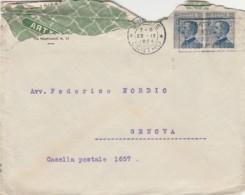 LETTERA 1924 2X25 TIMBRO TRIESTE ARTICOLI PER LA CASA (VX1360 - Storia Postale