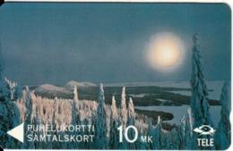 FINLAND(GPT) - Winterview From Koli, CN : 3FINA, Tirage 50000, 03/91, Mint - Finnland