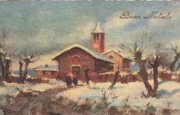 CARTOLINA BUON NATALE CIRCA 1940 C.30 (VX1469 - Altri