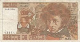 BANCONOTA FRANCIA 10 FRANCHI VF (VX1555 - 1962-1997 ''Francs''