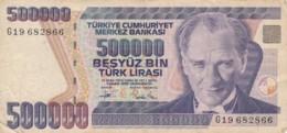 BANCONOTA TURCHIA 500000 LIRA VF (VX1572 - Turchia