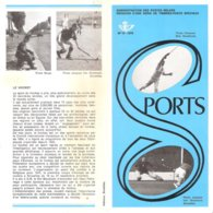 N°13 -1970 FR - Sports Avec Timbres Oblitérés 1er Jour - Documents Of Postal Services