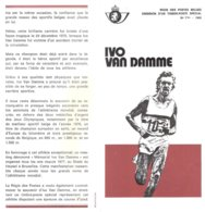 N°7bis -1980 FR - Ivo Van Damme Avec Timbres Oblitérés 1er Jour Et Neuf - Documents Of Postal Services