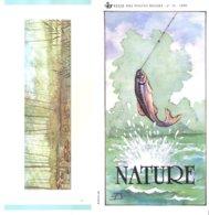 N°13 -1990 FR - Nature - Poissons Avec Timbres Oblitérés 1er Jour - Documents Of Postal Services