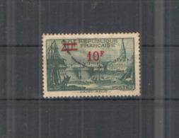 Francia PO  1940/41  Saint Malo Surch.Scott.413 See Scan Album Francia; - Usati