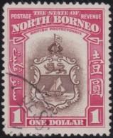 North Borneo       .    SG   .    315          .     O   .   Cancelled .   /   .   Gebruikt - North Borneo (...-1963)