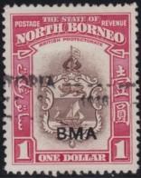 North Borneo       .    SG   .    332         .     O   .   Cancelled .   /   .   Gebruikt - North Borneo (...-1963)