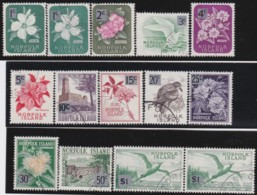 Norfolk Islands        .    SG   .   60/71 + 60a + 71a       .     O   .   Cancelled .   /   .   Gebruikt - Great Britain (former Colonies & Protectorates)