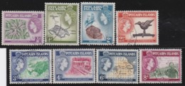 Pitcairn Islands        .    SG   .   18/28  (23 Missing)       .     O   .   Cancelled .   /   .   Gebruikt - Gran Bretagna (vecchie Colonie E Protettorati)
