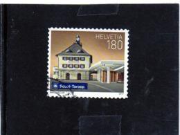 2017 Svizzera - La Stazione Di Scuol Tarasp - Used Stamps