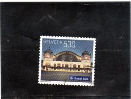 2016 Svizzera - La Stazione Di Basilea - Used Stamps