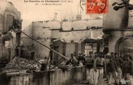 Les Emeutes En Champagne (Avril 1911) AY - La Maison Bissinger. Belle Animation - Ay En Champagne