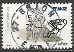 FRANCE AUTOADHESIF OBLITERE N° 475 - France