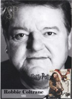 Portugal 2019 Harry Potter Rubens Hagrid Robbie Coltrane Actor Cinema Movie Literature Kino Maxicard Maximum Máximo - Cinema