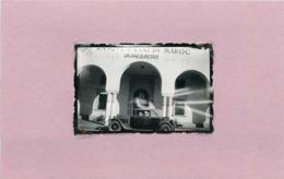 MAROC (oujda) - Banque D'état Du Maroc (photo Années 30/40 ,format 6,7cm X 4,5cm) - Guerre, Militaire
