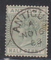 ANTIGUA Scott # 12 Used - Queen Victoria - Antigua & Barbuda (...-1981)