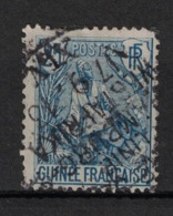 Guinée - French Guinea - Yvert 25 Oblitération Paquebot  - Scott#25 - French Guinea (1892-1944)