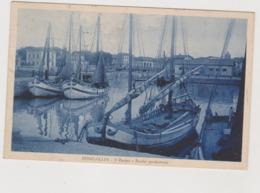 Senigallia (AN) Il Bacino E Barche Pescherecce  - F.p. - Anni  '1930 - Senigallia