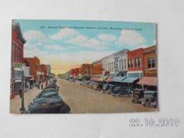 Laramie. - Second Street And Business Distric. (27 - 11 - 1943) - Laramie