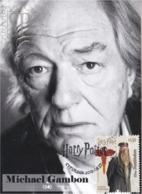 Portugal 2019 Harry Potter Albus Dumbledore Michael Gambon Actor Cinema Movie Literature Kino Maxicard Maximum Máximo - Cinema