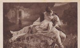 AK Der Kuß - Liebespaar - Ca. 1910 (44583) - Paare