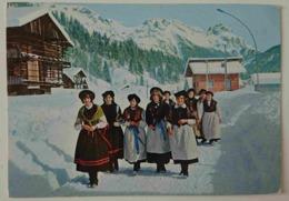 COSTUMI DELLA VALLE DEL BIOIS - FALCADE, CAVIOLA, CANALE, VALLADA - AGORDINO Dolomiti Costume Folklorique - Costumes Vg - Costumi