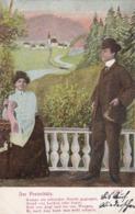 AK Der Freischütz - Liebespaar - Feldpost Königshof 1914 (44587) - Paare