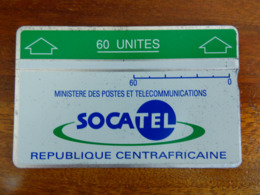 """Télécarte Holographique """"Socatel"""" République Centrafricaine - Repubblica Centroafricana"""