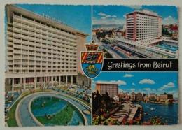 BEIRUT, LIBAN / LEBANON - Greetings From Beirut - Hotel Phoenicia - Vg - Lebanon