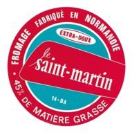 ETIQUETTE De FROMAGE..FROMAGE Fabriqué En NORMANDIE ( Calvados 14)..Le SAINT MARTIN - Kaas