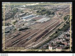 94  VILLENEUVE  ST  GEORGES  ... La Gare De Triage - Villeneuve Saint Georges