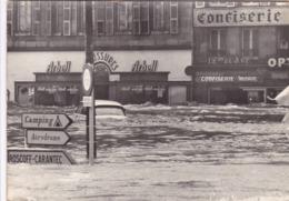 PHOTO ORIGINALE DE 1974 MORLAIX FINISTERE 29 LES INONDATIONS - Lieux