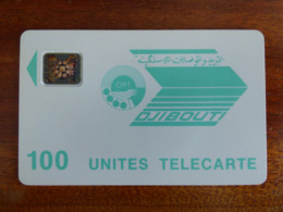 Télécarte De Djibouti - 100U - SC4 An - Trou De 6 Mm - GE 33549 - TBE - Dschibuti