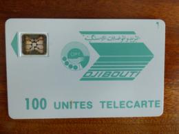 Télécarte De Djibouti - 100U - SC4 An - 6 Mm - Sans Numérotation Et Logo Moreno - Djibouti