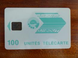 Télécarte De Djibouti - 100U - SC5 ISO - Sans Trou Au Verso - N° C51100981 - Djibouti